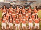 Eagle Pass Eagles Girls Varsity Softball Spring 18-19 team photo.