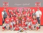 Hazleton Cougars Girls Varsity Softball Spring 18-19 team photo.
