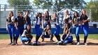 Bakersfield Christian Eagles Girls Varsity Softball Spring 18-19 team photo.