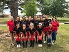 Murfreesboro Rattlers Girls Varsity Softball Spring 18-19 team photo.