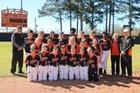Malvern Leopards Girls Varsity Softball Spring 18-19 team photo.