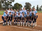 Academy of Our Lady of Peace Pilots Girls Varsity Softball Spring 18-19 team photo.
