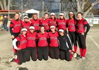 Etna Lions Girls Varsity Softball Spring 18-19 team photo.