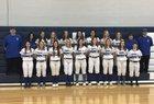 Danville Blue Devils Girls Varsity Softball Spring 18-19 team photo.
