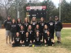 Cedar Ridge Fighting Red Wolves Girls Varsity Softball Spring 18-19 team photo.