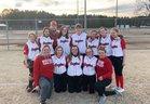 Northeast Academy Eagles Girls Varsity Softball Spring 18-19 team photo.