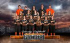 Santa Rosa Panthers Girls Varsity Softball Spring 18-19 team photo.