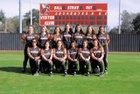 Alvin Yellowjackets Girls Varsity Softball Spring 18-19 team photo.