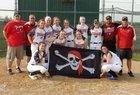 Perry Pirates Girls Varsity Softball Spring 18-19 team photo.