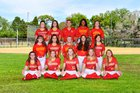 Clearwater Central Catholic Marauders Girls Varsity Softball Spring 18-19 team photo.