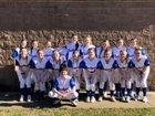 Arkadelphia Badgers Girls Varsity Softball Spring 18-19 team photo.