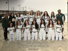 Mar Vista Mariners Girls Varsity Softball Spring 18-19 team photo.