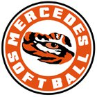 Mercedes Tigers Girls Varsity Softball Spring 18-19 team photo.