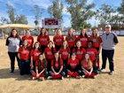 Chandler Prep Titans Girls Varsity Softball Spring 18-19 team photo.
