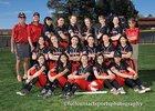 Albuquerque Academy Chargers Girls Varsity Softball Spring 18-19 team photo.