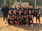 Pasadena Bulldogs Girls Varsity Softball Spring 18-19 team photo.