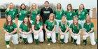 Portage Mustangs Girls Varsity Softball Spring 18-19 team photo.