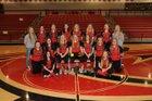 Rose Bud Ramblers Girls Varsity Softball Spring 18-19 team photo.