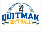 Quitman Wolverines Girls Varsity Softball Spring 18-19 team photo.