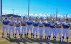 Morgan Trojans Girls Varsity Softball Spring 18-19 team photo.