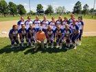 South Spencer Rebels Girls Varsity Softball Spring 18-19 team photo.
