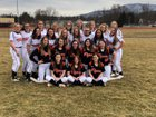 Tunkhannock Tigers Girls Varsity Softball Spring 18-19 team photo.