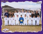 Vasquez Mustangs Boys JV Soccer Winter 15-16 team photo.