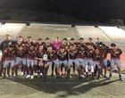 Monte Vista Monarchs Boys Varsity Soccer Winter 18-19 team photo.