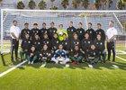 Lakeside Lancers Boys Varsity Soccer Winter 18-19 team photo.