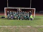 Greenfield Bruins Boys Varsity Soccer Winter 18-19 team photo.