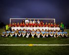 El Cajon Valley Braves Boys Varsity Soccer Winter 18-19 team photo.