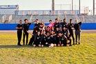 Southeast Seminoles Boys Varsity Soccer Winter 18-19 team photo.
