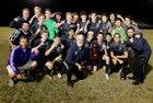 River Ridge Royal Knights Boys Varsity Soccer Winter 18-19 team photo.