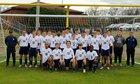 St. Andrew's Episcopal Saints Boys Varsity Soccer Winter 18-19 team photo.