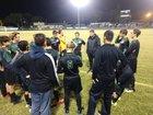 Keswick Christian Crusaders Boys Varsity Soccer Winter 18-19 team photo.