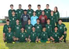 Peoria Panthers Boys Varsity Soccer Winter 18-19 team photo.