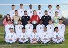 Kellis Cougars Boys Varsity Soccer Winter 18-19 team photo.