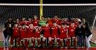 Tucson High Magnet School Badgers Boys Varsity Soccer Winter 18-19 team photo.