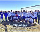Cobalt Institute of Math & Science Academy  Boys Varsity Soccer Winter 18-19 team photo.