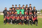Troy Warriors Boys Varsity Soccer Winter 18-19 team photo.