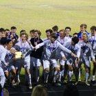 Osceola Warriors Boys Varsity Soccer Winter 18-19 team photo.