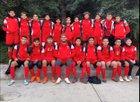 Kerman Lions Boys Varsity Soccer Winter 18-19 team photo.