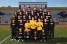 Mesa Jackrabbits Boys Varsity Soccer Winter 18-19 team photo.