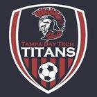 Tampa Bay Tech Titans Boys Varsity Soccer Winter 18-19 team photo.