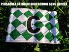 Pensacola Catholic Crusaders Boys Varsity Soccer Winter 18-19 team photo.