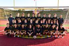 Torrey Pines Falcons Boys Varsity Soccer Winter 18-19 team photo.