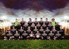 Guyer Wildcats Boys Varsity Soccer Winter 18-19 team photo.