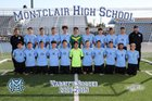 Montclair Cavaliers Boys Varsity Soccer Winter 18-19 team photo.