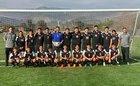 Public Safety Academy Phoenix Boys Varsity Soccer Winter 18-19 team photo.