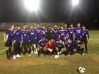 Shadow Hills Knights Boys Varsity Soccer Winter 18-19 team photo.